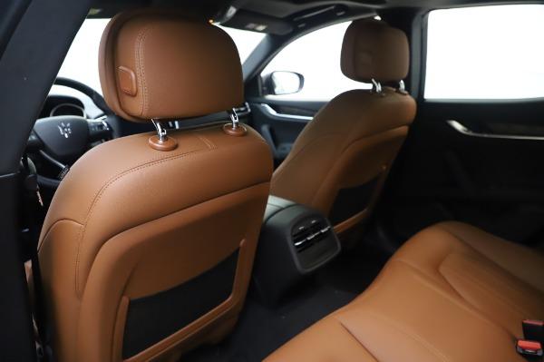 New 2020 Maserati Ghibli S Q4 for sale $82,385 at Maserati of Greenwich in Greenwich CT 06830 20