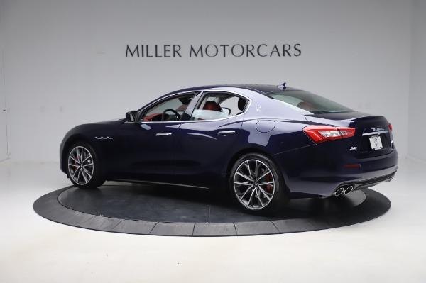 New 2020 Maserati Ghibli S Q4 for sale Sold at Maserati of Greenwich in Greenwich CT 06830 4