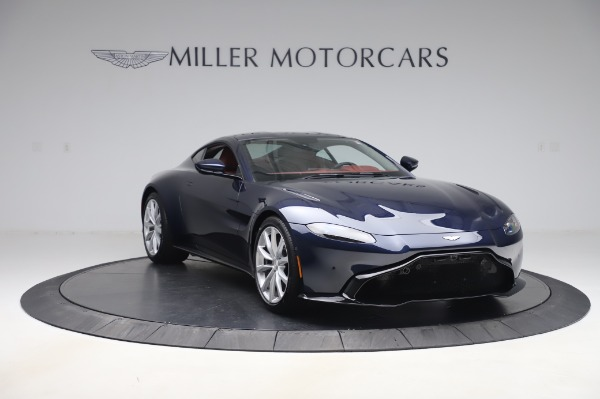 New 2020 Aston Martin Vantage Coupe for sale $177,481 at Maserati of Greenwich in Greenwich CT 06830 10