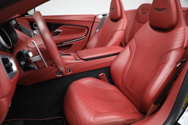 New 2020 Aston Martin DB11 Volante Convertible for sale $247,386 at Maserati of Greenwich in Greenwich CT 06830 21