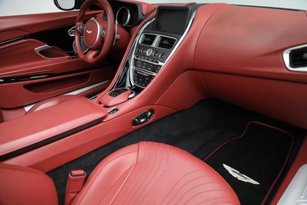 New 2020 Aston Martin DB11 Volante Convertible for sale $247,386 at Maserati of Greenwich in Greenwich CT 06830 24