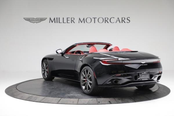New 2020 Aston Martin DB11 Volante Convertible for sale $247,386 at Maserati of Greenwich in Greenwich CT 06830 4