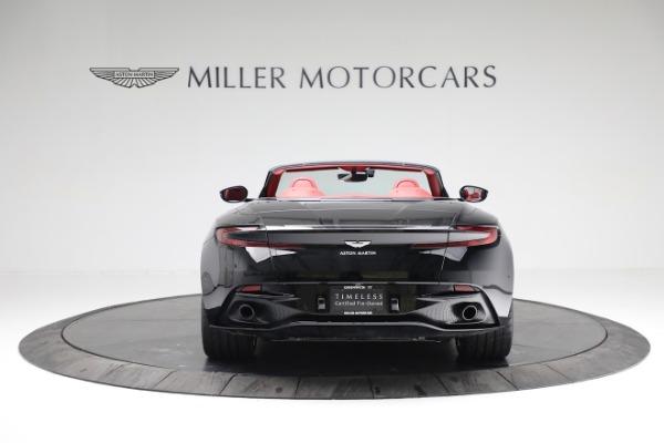 New 2020 Aston Martin DB11 Volante Convertible for sale $247,386 at Maserati of Greenwich in Greenwich CT 06830 5