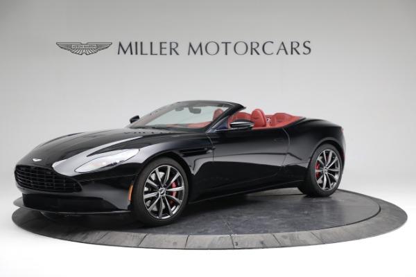 New 2020 Aston Martin DB11 Volante Convertible for sale $247,386 at Maserati of Greenwich in Greenwich CT 06830 1