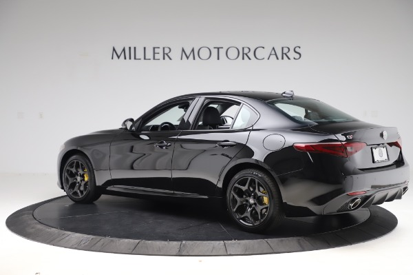 New 2020 Alfa Romeo Giulia Sport Q4 for sale Sold at Maserati of Greenwich in Greenwich CT 06830 4