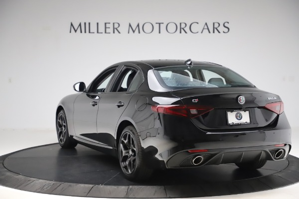 New 2020 Alfa Romeo Giulia Sport Q4 for sale Sold at Maserati of Greenwich in Greenwich CT 06830 5