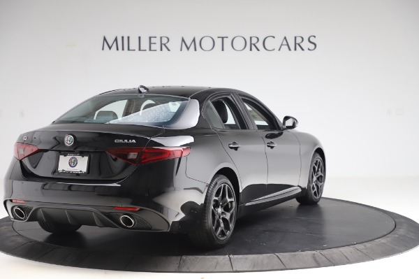 New 2020 Alfa Romeo Giulia Sport Q4 for sale Sold at Maserati of Greenwich in Greenwich CT 06830 7