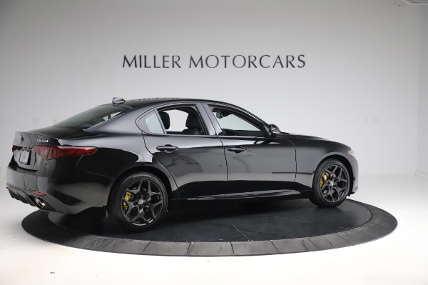 New 2020 Alfa Romeo Giulia Sport Q4 for sale Sold at Maserati of Greenwich in Greenwich CT 06830 8