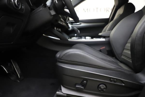 New 2020 Alfa Romeo Stelvio Ti Sport Q4 for sale $57,945 at Maserati of Greenwich in Greenwich CT 06830 14