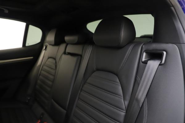 New 2020 Alfa Romeo Stelvio Ti Sport Q4 for sale $57,945 at Maserati of Greenwich in Greenwich CT 06830 18
