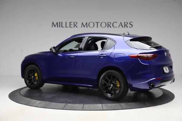 New 2020 Alfa Romeo Stelvio Ti Sport Q4 for sale Sold at Maserati of Greenwich in Greenwich CT 06830 4