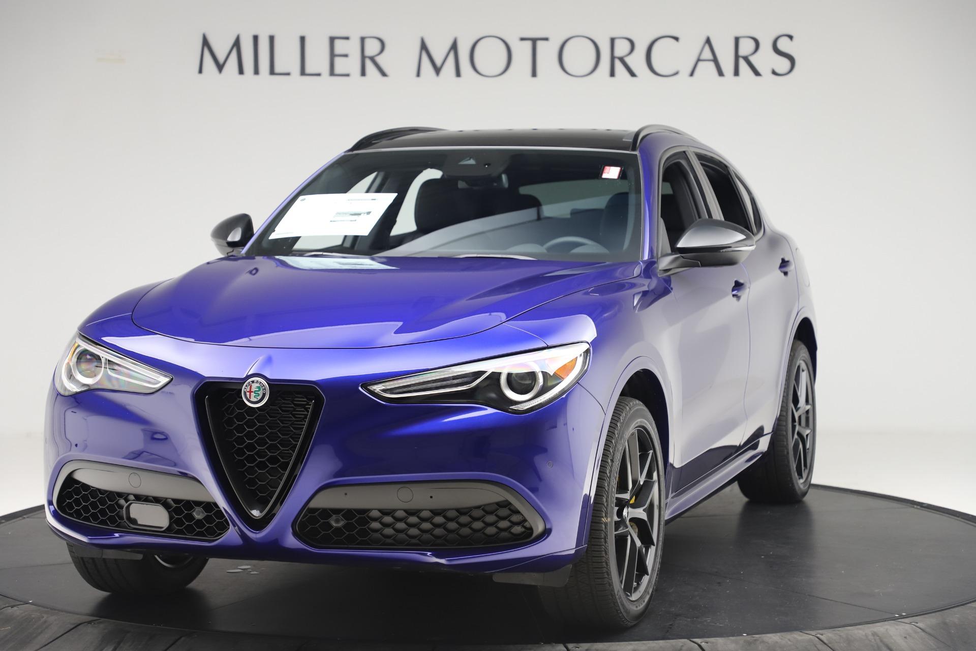New 2020 Alfa Romeo Stelvio Ti Sport Q4 for sale $57,945 at Maserati of Greenwich in Greenwich CT 06830 1