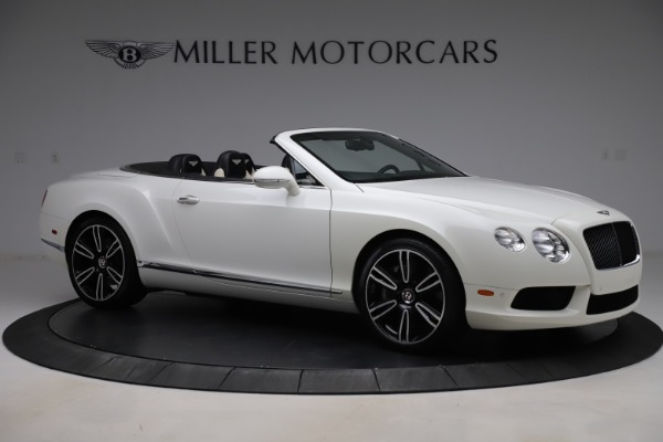 Used 2014 Bentley Continental GT Convertible V8 for sale $106,900 at Maserati of Greenwich in Greenwich CT 06830 10