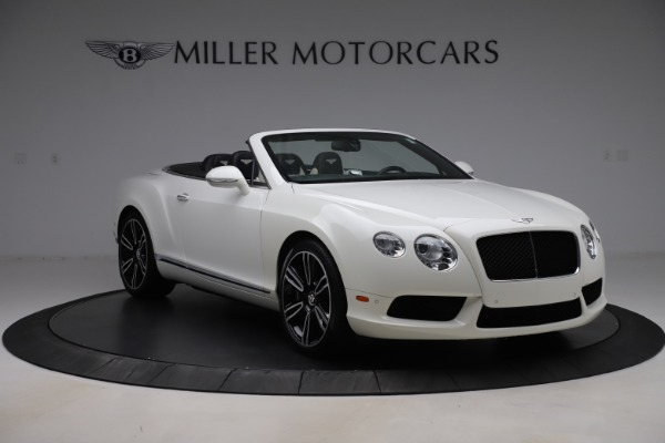 Used 2014 Bentley Continental GTC V8 for sale $114,900 at Maserati of Greenwich in Greenwich CT 06830 11