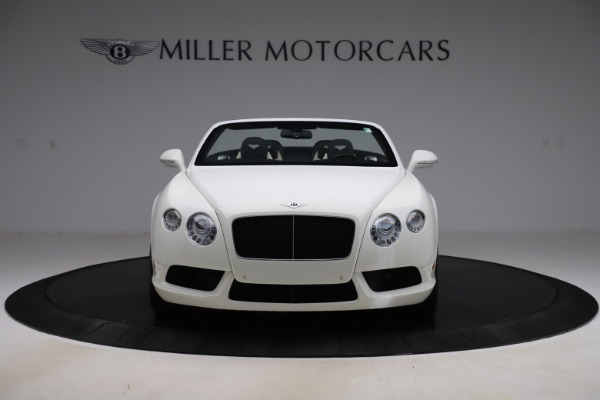 Used 2014 Bentley Continental GTC V8 for sale $106,900 at Maserati of Greenwich in Greenwich CT 06830 12