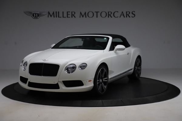 Used 2014 Bentley Continental GTC V8 for sale $106,900 at Maserati of Greenwich in Greenwich CT 06830 13