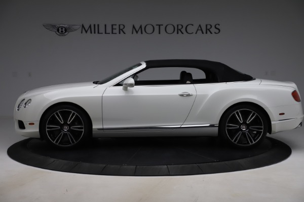 Used 2014 Bentley Continental GTC V8 for sale $114,900 at Maserati of Greenwich in Greenwich CT 06830 14
