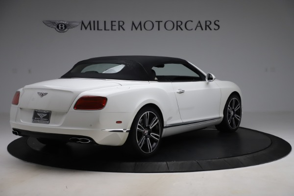 Used 2014 Bentley Continental GT Convertible V8 for sale $106,900 at Maserati of Greenwich in Greenwich CT 06830 16