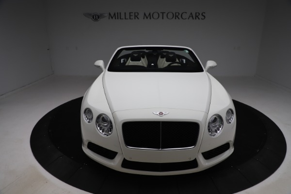 Used 2014 Bentley Continental GTC V8 for sale $114,900 at Maserati of Greenwich in Greenwich CT 06830 19