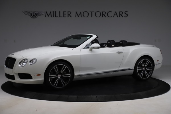 Used 2014 Bentley Continental GT Convertible V8 for sale $106,900 at Maserati of Greenwich in Greenwich CT 06830 2