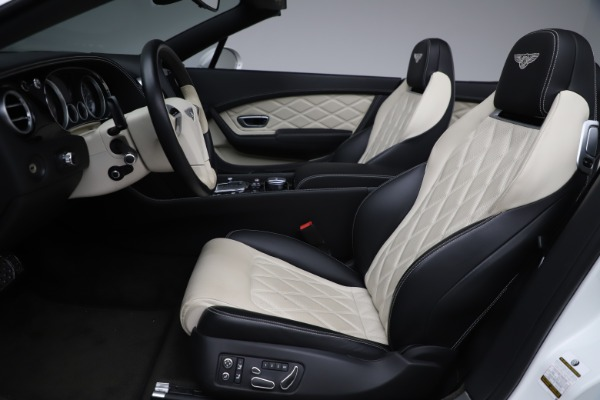 Used 2014 Bentley Continental GTC V8 for sale $106,900 at Maserati of Greenwich in Greenwich CT 06830 27