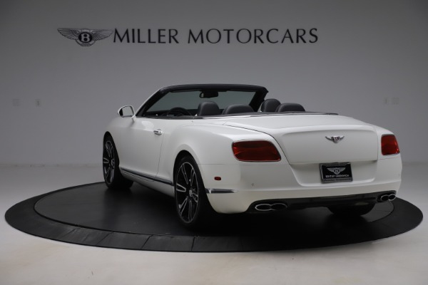 Used 2014 Bentley Continental GTC V8 for sale $106,900 at Maserati of Greenwich in Greenwich CT 06830 5