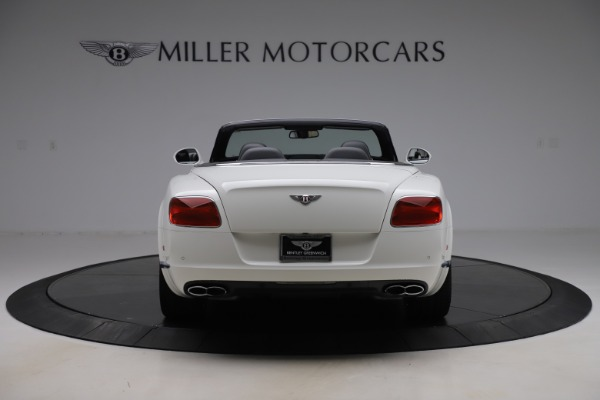 Used 2014 Bentley Continental GTC V8 for sale $114,900 at Maserati of Greenwich in Greenwich CT 06830 6