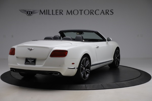 Used 2014 Bentley Continental GT Convertible V8 for sale $106,900 at Maserati of Greenwich in Greenwich CT 06830 7