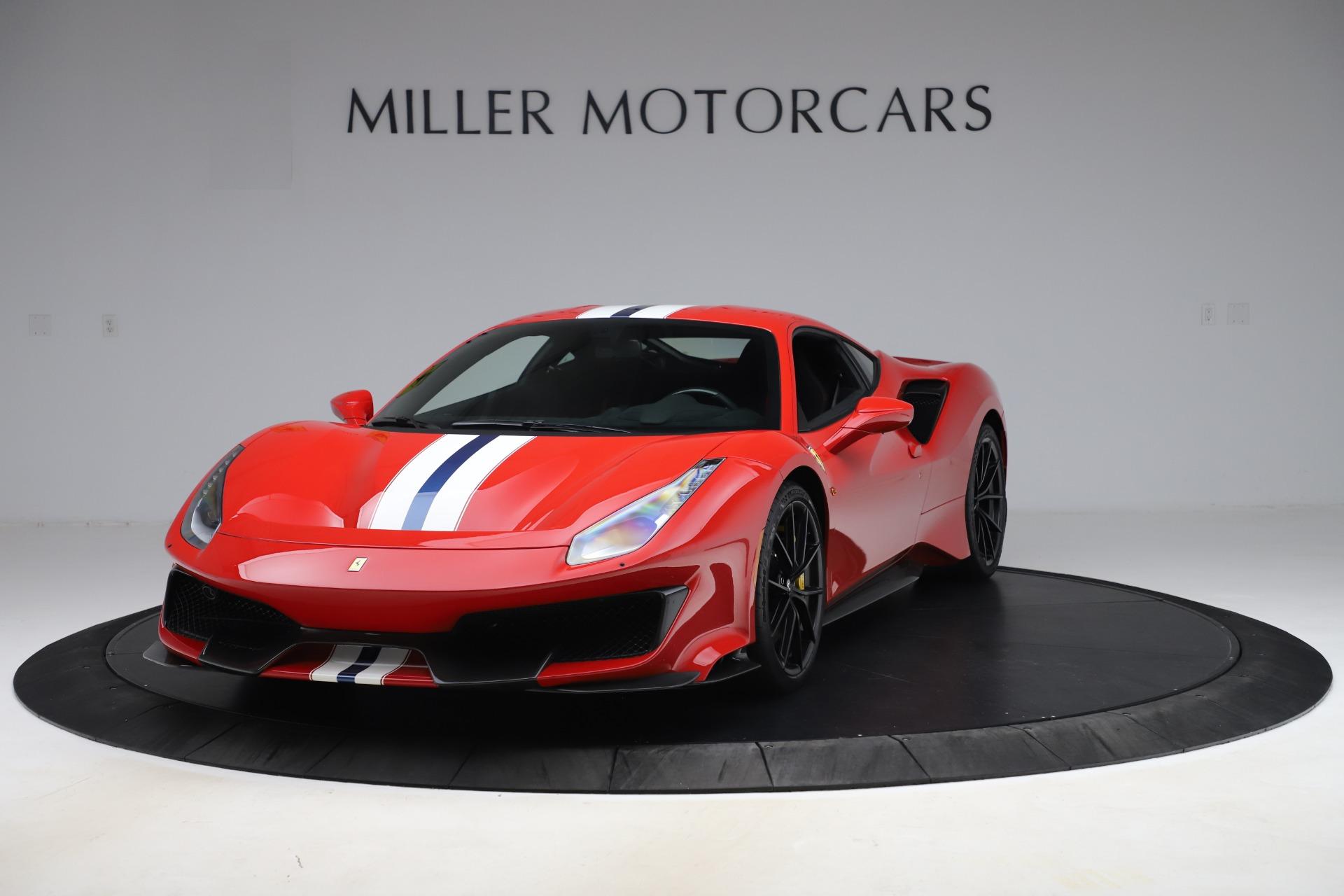 Used 2019 Ferrari 488 Pista for sale $451,900 at Maserati of Greenwich in Greenwich CT 06830 1