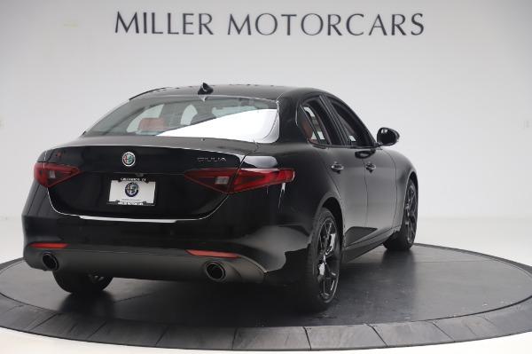 New 2020 Alfa Romeo Giulia Q4 for sale Sold at Maserati of Greenwich in Greenwich CT 06830 7