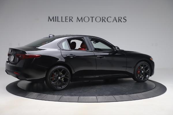 New 2020 Alfa Romeo Giulia Q4 for sale Sold at Maserati of Greenwich in Greenwich CT 06830 8