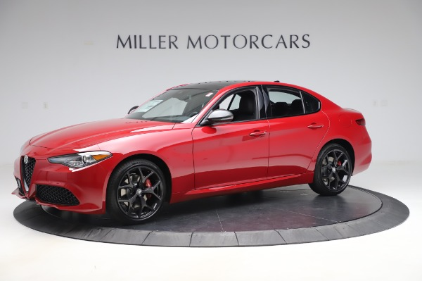 New 2020 Alfa Romeo Giulia Sport Q4 for sale $48,645 at Maserati of Greenwich in Greenwich CT 06830 2