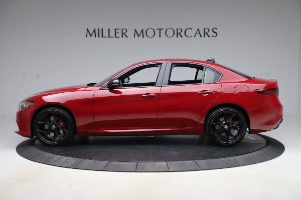 New 2020 Alfa Romeo Giulia Sport Q4 for sale $48,645 at Maserati of Greenwich in Greenwich CT 06830 3