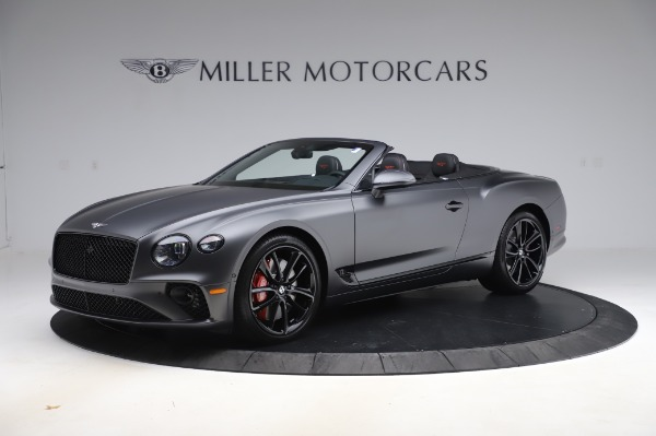 New 2020 Bentley Continental GTC W12 for sale $329,600 at Maserati of Greenwich in Greenwich CT 06830 2