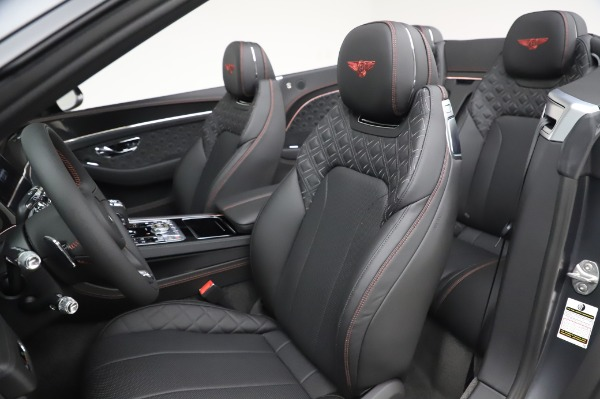 New 2020 Bentley Continental GTC W12 for sale Sold at Maserati of Greenwich in Greenwich CT 06830 27