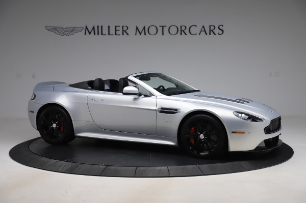Used 2017 Aston Martin V12 Vantage S Roadster for sale Sold at Maserati of Greenwich in Greenwich CT 06830 11