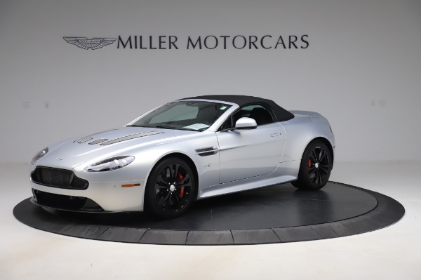 Used 2017 Aston Martin V12 Vantage S Roadster for sale Sold at Maserati of Greenwich in Greenwich CT 06830 13
