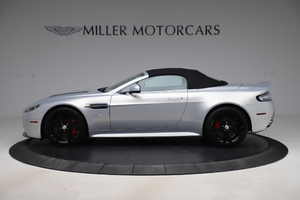 Used 2017 Aston Martin V12 Vantage S Roadster for sale Sold at Maserati of Greenwich in Greenwich CT 06830 14
