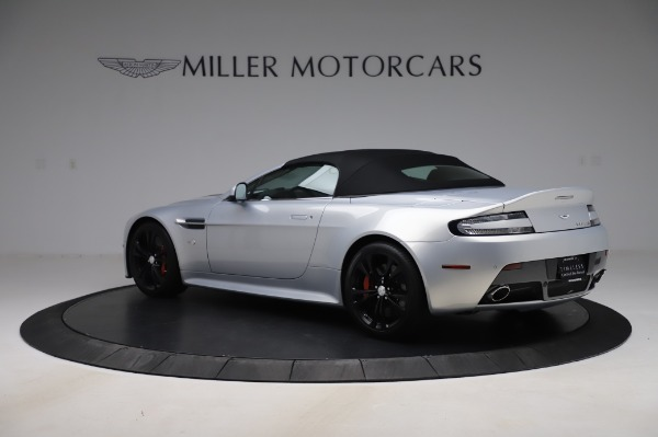Used 2017 Aston Martin V12 Vantage S Roadster for sale Sold at Maserati of Greenwich in Greenwich CT 06830 15