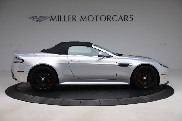 Used 2017 Aston Martin V12 Vantage S Roadster for sale Sold at Maserati of Greenwich in Greenwich CT 06830 17