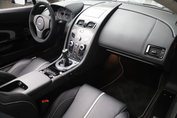 Used 2017 Aston Martin V12 Vantage S Roadster for sale Sold at Maserati of Greenwich in Greenwich CT 06830 27