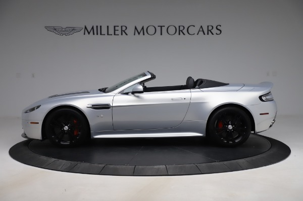 Used 2017 Aston Martin V12 Vantage S Roadster for sale Sold at Maserati of Greenwich in Greenwich CT 06830 4
