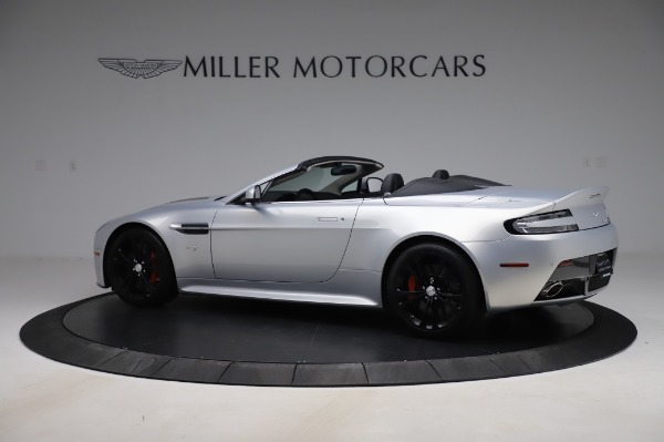 Used 2017 Aston Martin V12 Vantage S Roadster for sale Sold at Maserati of Greenwich in Greenwich CT 06830 5