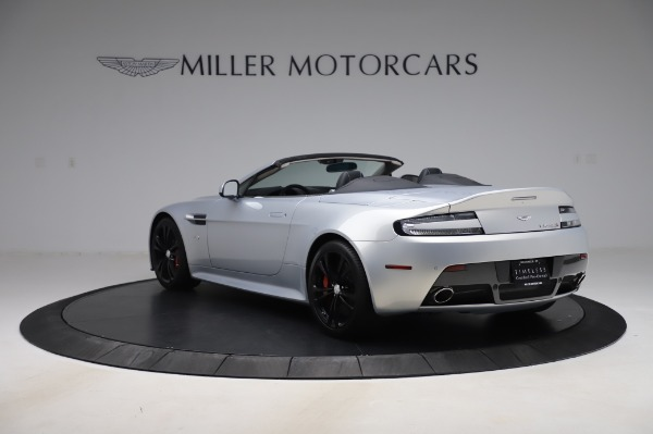 Used 2017 Aston Martin V12 Vantage S Roadster for sale Sold at Maserati of Greenwich in Greenwich CT 06830 6