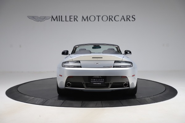 Used 2017 Aston Martin V12 Vantage S Roadster for sale Sold at Maserati of Greenwich in Greenwich CT 06830 7