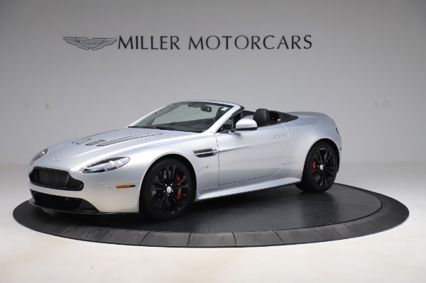 Used 2017 Aston Martin V12 Vantage S Roadster for sale Sold at Maserati of Greenwich in Greenwich CT 06830 1