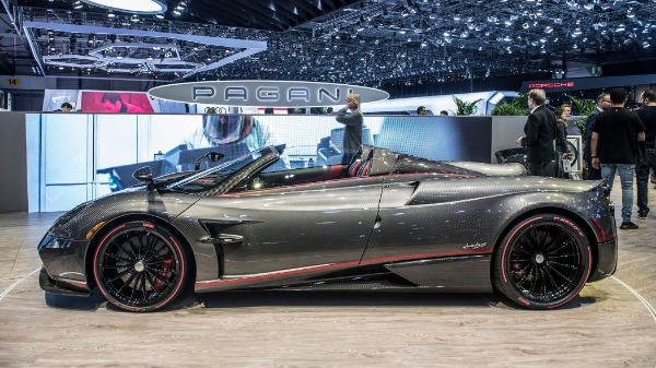 Used 2017 Pagani Huayra Roadster for sale Call for price at Maserati of Greenwich in Greenwich CT 06830 9