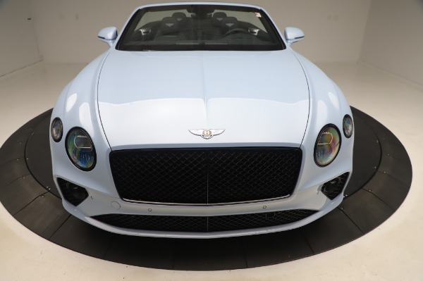 New 2020 Bentley Continental GTC V8 for sale $280,475 at Maserati of Greenwich in Greenwich CT 06830 12