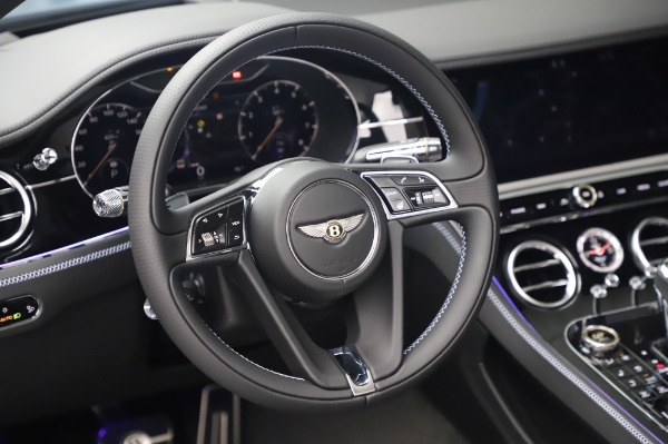 New 2020 Bentley Continental GTC V8 for sale $280,475 at Maserati of Greenwich in Greenwich CT 06830 28