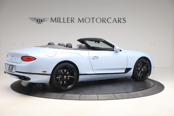 New 2020 Bentley Continental GTC V8 for sale $280,475 at Maserati of Greenwich in Greenwich CT 06830 8